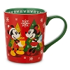 Disney Coffee Cup - Mickey & Minnie Holiday