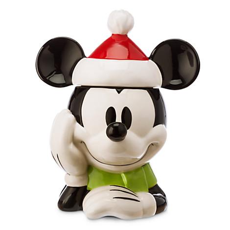 Disney Cookie Jars >> Disney Cookie Jar Santa Mickey Holiday