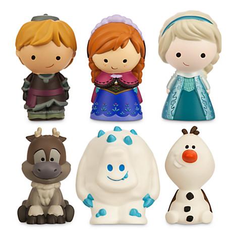 Disney Bath Toy Set Frozen