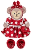 Disney ShellieMay Bear Clothes - Minnie Costume