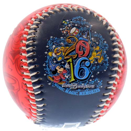 Disney Collectible Baseball - 2016 Official Logo Walt Disney World