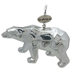 SeaWorld Christmas Ornament - Silver Polar Bear