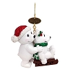 SeaWorld Christmas Ornament - Polar Bear Friends