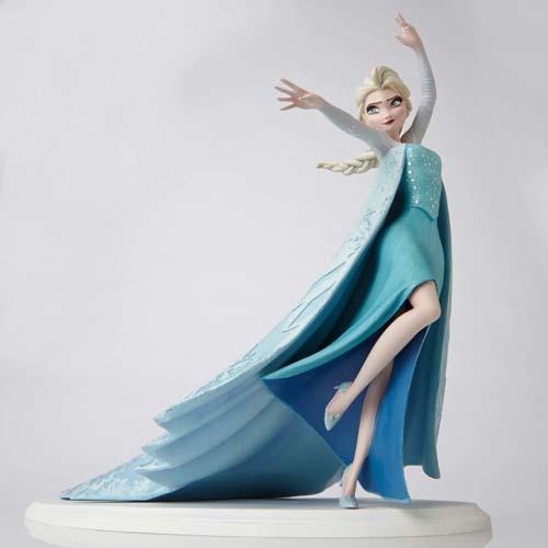 disney figurine frozen elsa maquette archives collection