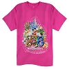 Disney Adult Shirt - 2016 Walt Disney World - Pink