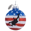 SeaWorld Christmas Ornament - Shamu Orca USA Ball