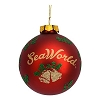 SeaWorld Christmas Ornament - Feliz Navidad Ball