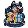 Disney Annual Pin - 2016 Music Magic Memories - Sorcerer Mickey Mouse