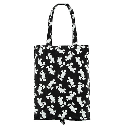 disney fold up tote bag standing mickey mouse