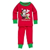 Disney Baby Christmas Pajamas - Santa Mickey with Duffy