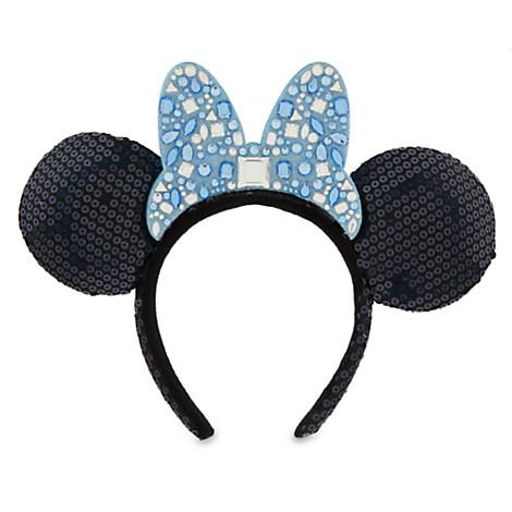 479daaeab44f9 Disney Minnie Ears Headband - Disneyland Diamond Celebration