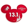 Disney Auto Magnet - runDisney Mickey Mouse 2016 - 13.1