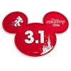 Disney Mini Auto Magnet - runDisney Mickey Ears 2016 - 3.1