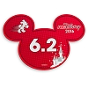 Disney Mini Auto Magnet - RunDisney Mickey Icon 2016 - 6.2