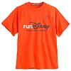 Disney Adult Shirt - RunDisney Powertrain Tee - Orange