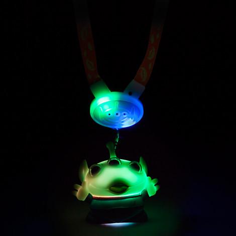 Disney Light Up Lanyard Toy Story Little Green Man