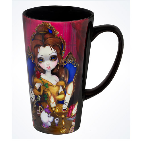 disney coffee cup mug belle by becket griffith