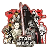 Disney Star Wars Pin - Force Awakens Resistance and First Order Jumbo