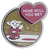 Disney Star Wars Pin - Yoda - Mine Will You Be? - Valentine's Day