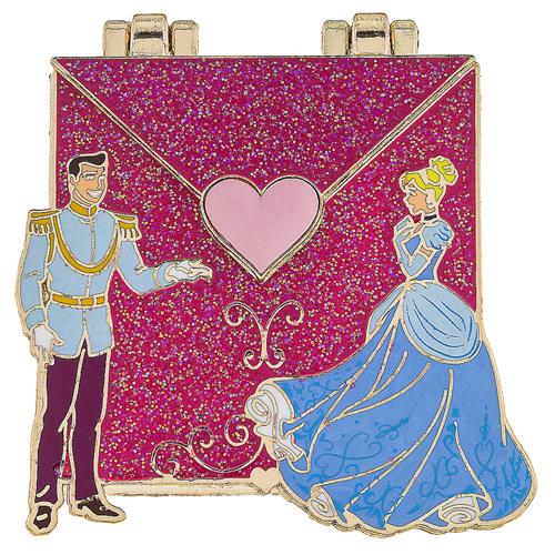 Disney Love Letters Pin