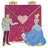 Disney Love Letters Pin - Cinderella and Prince Charming