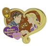 Disney Valentine's Day Pin - 2016 Rapunzel and Flynn