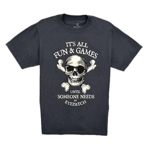 Disney Adult Shirt Pirate It S All Fun Amp Games