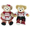 Disney Plush Set - Valentine's Day - Duffy Bear and ShellieMay 9''