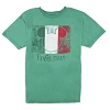 Disney ADULT Shirt - EPCOT Mickey Icon Italy Flag Tee