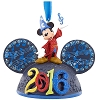 Disney Christmas Ornament - 2016 Sorcerer Mickey Mouse Ears Hat