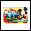 Disney Collectible Gift Card - Mickey Mouse Clubhouse
