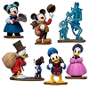 Disney Figurine Set - Mickey's Christmas Carol Playset