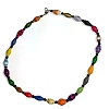 Disney EPCOT Recycled Paper Choker Necklace - Multi Color Beads