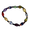 Disney EPCOT Recycled Paper Bracelet - Multi Color Beads