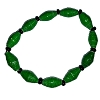 Disney EPCOT Recycled Paper Bracelet - Green Beads