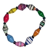 Disney EPCOT Recycled Paper Bracelet - Multi-Color Beads