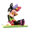 Disney by Britto Figure - Minnie on Beach