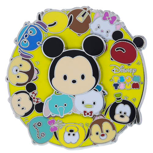 Disney Tsum Tsum Pin - Mickey and Friends Tsum Tsum Spinner