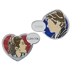 Disney Star Wars Pin - Han Solo Leia Set - Valentine's Day