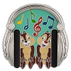 Disney Chip and Dale Pin - Headphones