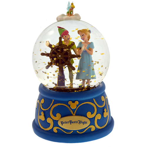 Disney Snow Globe - Peter Pans Flight - Peter and Wendy