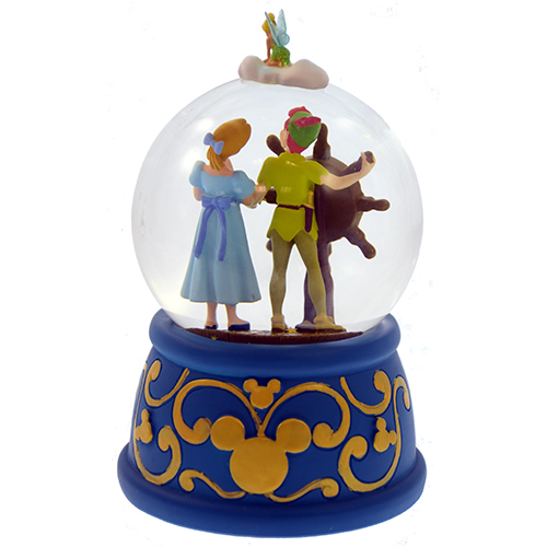 Disney Snow Globe Peter Pans Flight Peter And Wendy