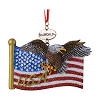SeaWorld Christmas Ornament - Eagle Flag