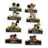 Disney Mystery Pins - Disney Street Signs - Complete