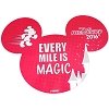 Disney Auto Magnet - RunDisney Every Mile is Magic - 2016