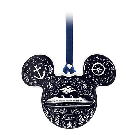 Disney Ornament - Disney Cruise Line Mickey Icon Disc