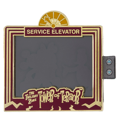 Disney Hollywood Studios Pin - Tower of Terror Service - Magic Window