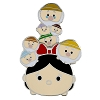 Disney Tsum Tsum Pin - Snow White and Dwarfs - Slider