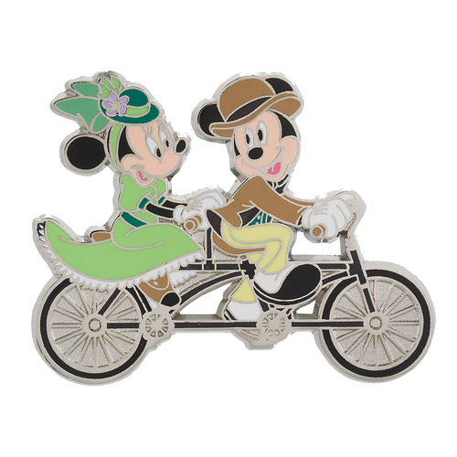 Your Wdw Store Disney Mickey And Minnie Pin Tandem Bike