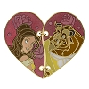 Disney Couples Pin - Heart Shaped Belle and Beast